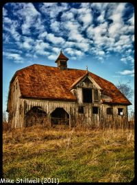 Dutch Colonial Hip Roof Barn | Barns, Round & Other Shapes ...