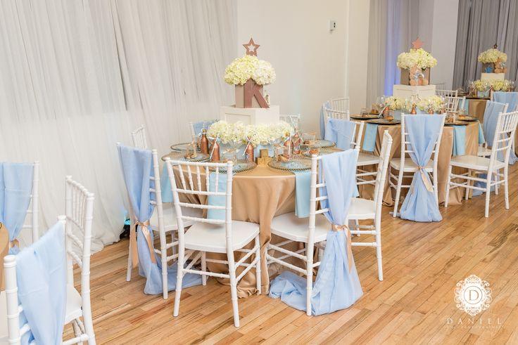 Twinkle twinkle little star baby shower tablescape