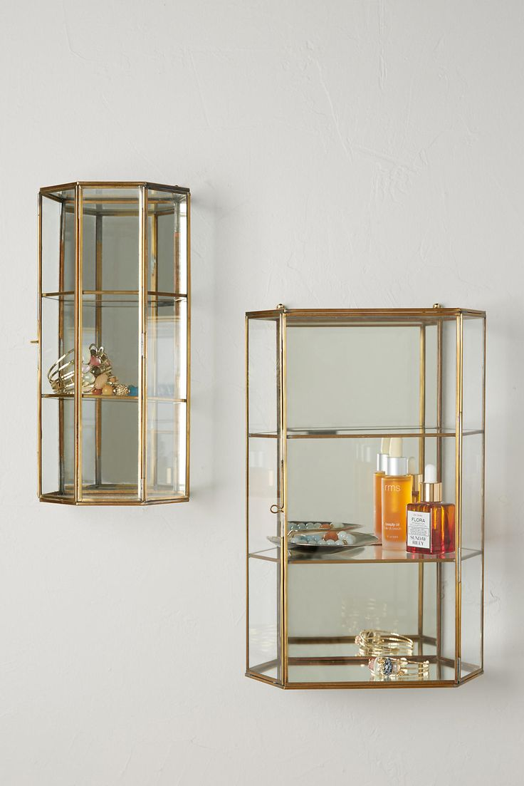 25 best ideas about Wall curio cabinet on Pinterest