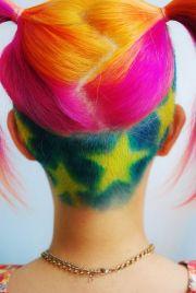super cute dye job and undercut