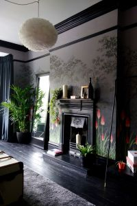 Best 25+ Dark interiors ideas on Pinterest | Dark walls ...