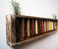 Wooden Spice Rack | Creative Ideas! | Pinterest | Wooden ...