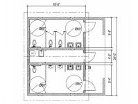 basic bathroom | Regulations for Public Spaces | Pinterest ...