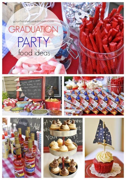 17 Best ideas about Graduation Party Foods on Pinterest