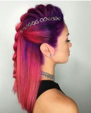 ideas magenta hair