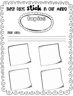 Sarah's First Grade Snippets: Graphic Organizer These
