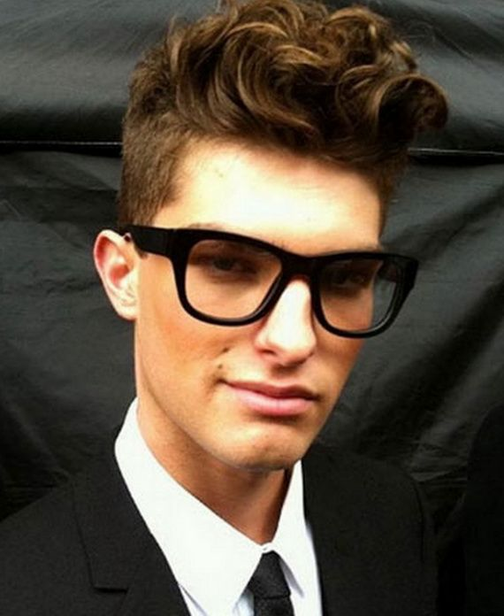 Awesome Back To School Nerd Hairstyles For Guys 2015 Check More At