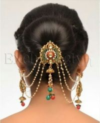 17 Best ideas about Indian Bridal Hairstyles on Pinterest ...