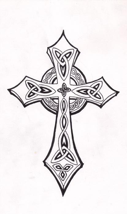 17 Best ideas about Celtic Cross Tattoos on Pinterest