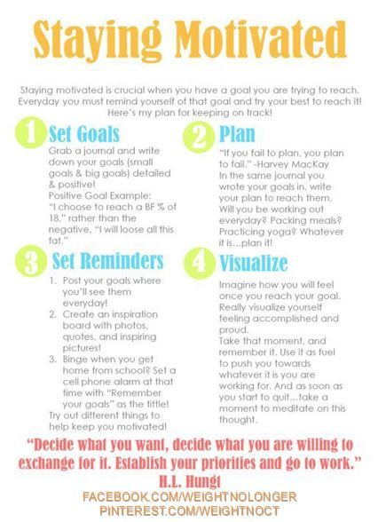 17 best images about ways to stay motivated on pinterest fitness motivation make time and