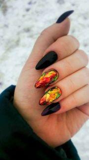 yellow nails ideas