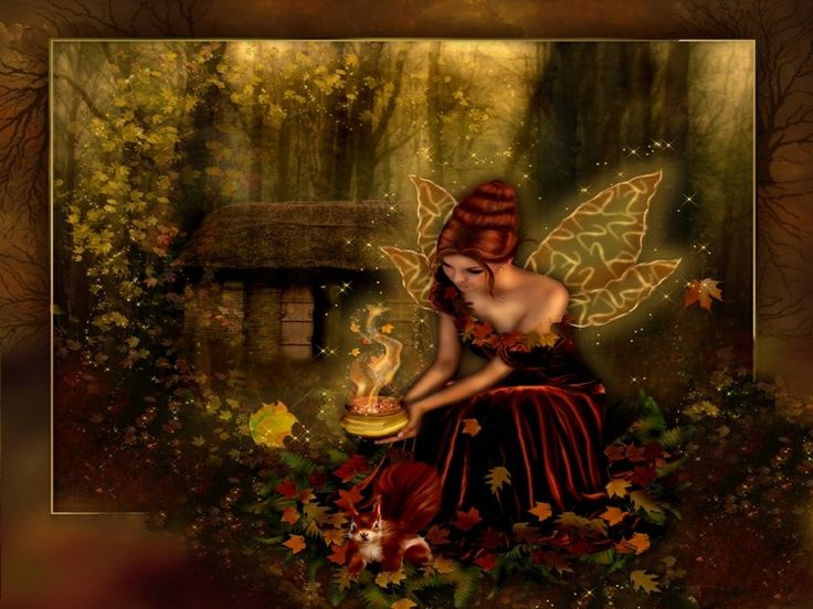 Whimsical Fall Desktop Wallpaper 92 Best Images About Enchanted Fairies On Pinterest