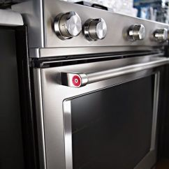 Kitchen Aid Gas Range Unfinished Pine Cabinets New In 2015 Kitchenaid Has Added The Induction Front ...