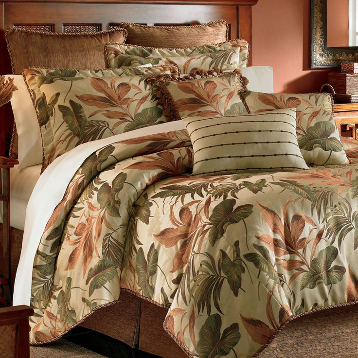 1000 Ideas About Tropical Bedding On Pinterest