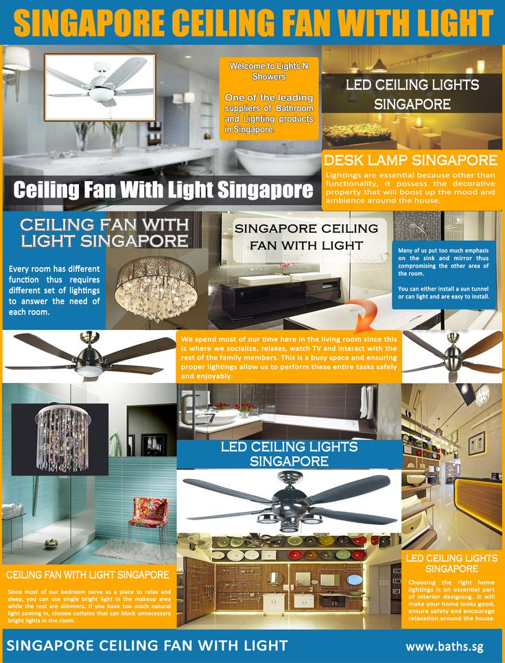 10 best images about Singapore Ceiling Fan With Light on