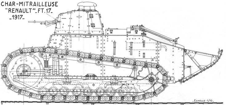 17 Best images about Renault FT 17 Tank. on Pinterest