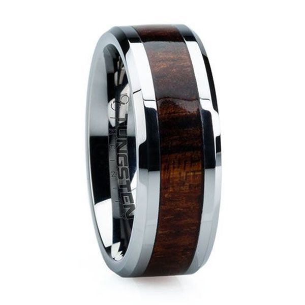 22 Best images about Wedding Rings on Pinterest  Tungsten rings Unique mens wedding bands and