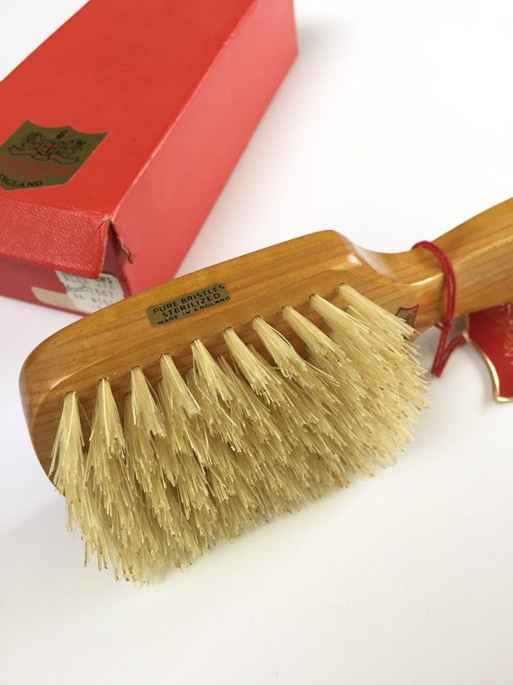 Rooney Hair Brush Made In England Solid Wood Hairbrush