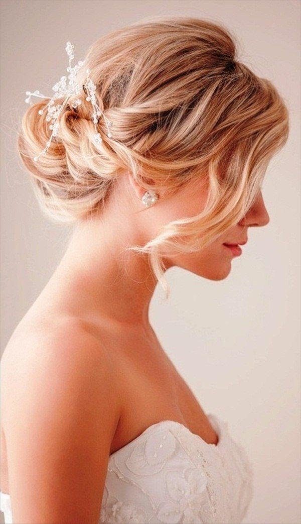 Die Besten 25 Brautfrisuren Mittellang Ideen Auf Pinterest