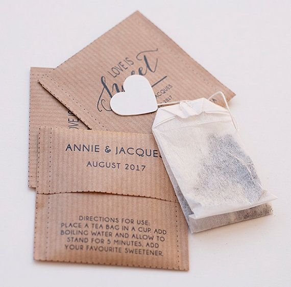 25 best Tea Bag Favors ideas on Pinterest  Tea party