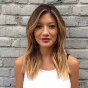 1000 ideas asian balayage