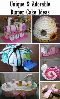 25+ best ideas about Unique diaper cakes on Pinterest