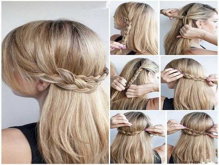 Easy Updos For Long Hair For Work Hair Styles