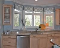 Miscellaneous : Window Treatment Ideas for Kitchen Bay ...