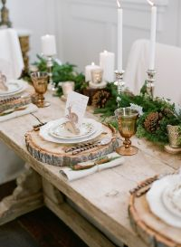 17 Best ideas about Rustic Table Settings on Pinterest ...