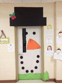 classroom doors | snowman door | Classroom/Lesson ideas ...