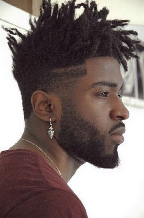 25 best ideas about Black men haircuts on Pinterest  Mixed race models Afro meaning and Rap