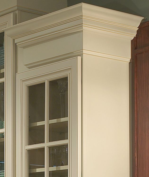 Trim and crowm molding on cabinets  Do you like to do it