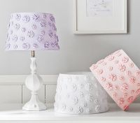Let this sweet little lamp shade lighten, brighten and ...
