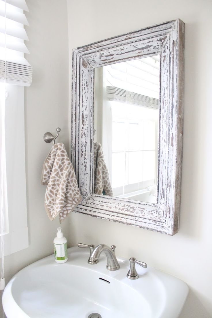 25 best ideas about Rustic bathroom mirrors on Pinterest  Country bathroom mirrors Decorative