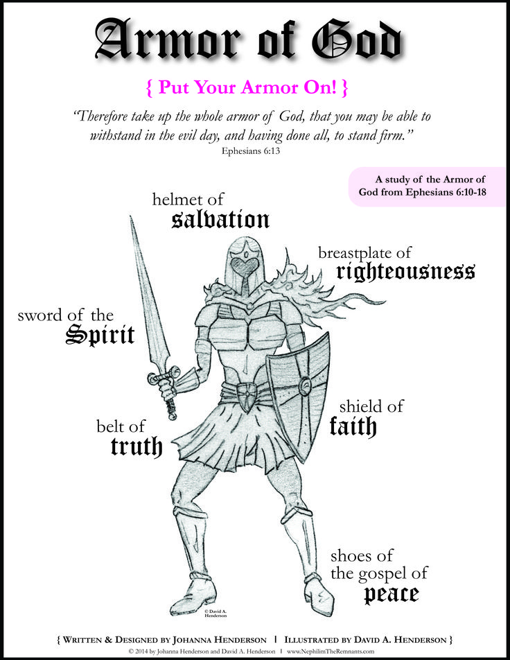 Bible Study great for GIRLS! {FREE} Armor of God Bible