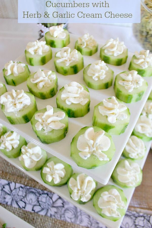 25 best ideas about Baby shower appetizers on Pinterest