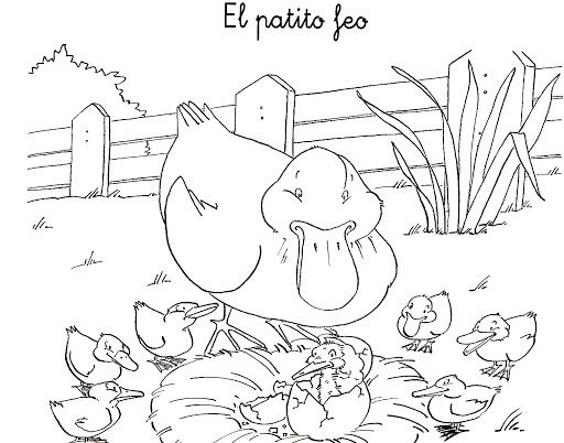 54 best images about CUENTO EL PATITO FEO on Pinterest