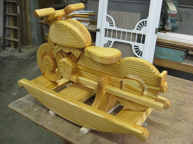 Wooden Rocking Horse Patterns WoodWorking Projects Amp Plans