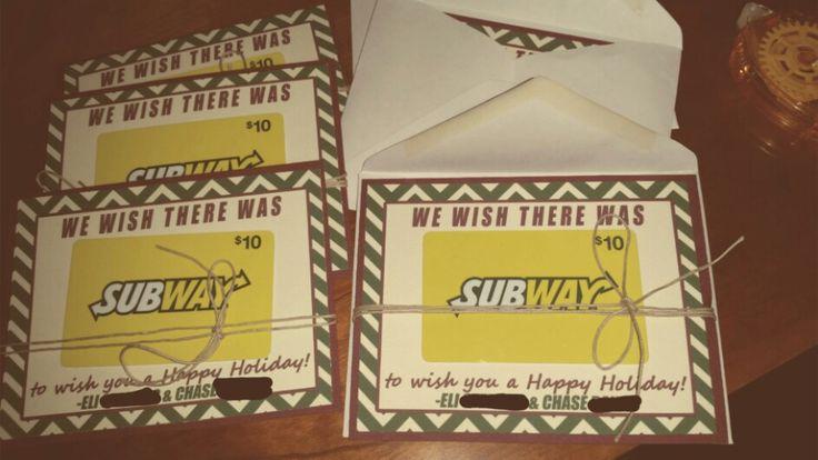 christmas gift cards printable