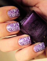 ideas swirl nail