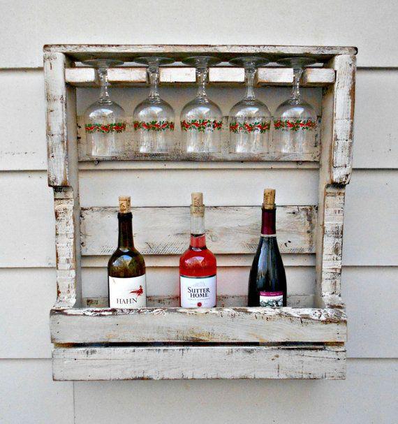 1000+ ideas about Pallet Wine Racks on Pinterest