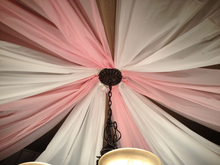 Ceiling Streamers Create Party