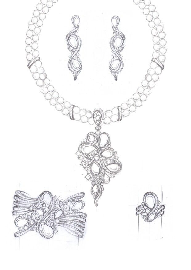 25+ Best Ideas about Jewellery Sketches on Pinterest
