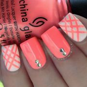 1000 ideas coral nail design