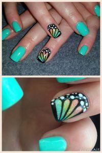 25+ best ideas about Short nails art on Pinterest | Short ...