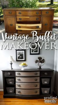 25+ best ideas about Vintage buffet on Pinterest