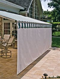 Patio Awning Side Panels Ideas