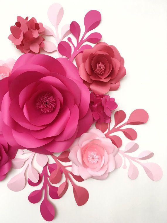 Best 20+ Large paper flowers ideas on Pinterest