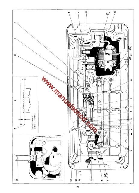 series wiring diagrams rover 75 diagram and body electrical system singer 500 sewing machine service manual. covers models: 518, 538, 513, 514, 533 stylist ...