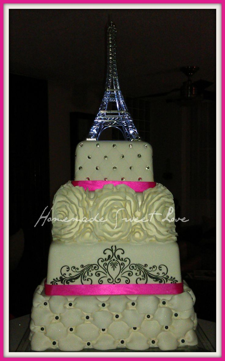 kitchen themed bridal shower displays for sale paris cake | my awesome cakes pinterest paris, ...